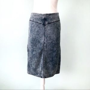 Guess Acid Wash Pencil Skirt Size XL